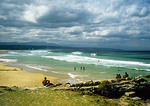 Indian Ocean beach at Plettenberg Bay