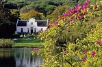 Zevenwacht winery manor house in Cape Dutch style in the Cape Winelands