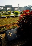Tauk Kyan World War II cemetery of British military casualties near Yangon