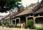 Chen Clan Academy multi-courtyard ancestral hall which houses the Guangdong Folk Art Museum