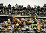 Roof decoration on Chen Clan Academy ancestral hall housing the Guangdong Folk Art Museum
