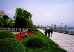 Jilin City promenade along Songhua River