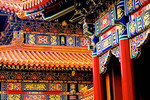 Imperial Palace Musueum (Forbidden City) detail freshly repainted