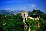 Great Wall at Jinshanling in summer