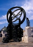 Beijing Ancient Observatory new armilla bronze astronomical instrument built in 1744 by the Jesuits