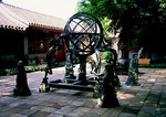 Beijing Ancient Observatory bronze armillary sphere astronomical instrument built in 1439 by the Jesuits
