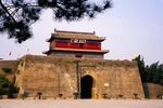 Shanhaiguan (Pass Between Mountains and Sea) Great Wall east gate, Tian Diyi Guan (First Pass Under Heaven), built in Ming dynasty