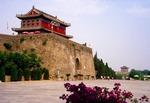 Shanhaiguan (Pass Between Mountains and Sea) Great Wall east gate, Tianxia Diyi Guan (First pass Under Heaven), built in Ming dynasty