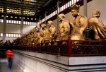 Hangzhou's Buddhist Lingyin Temple (Temple of the Soul's Retreat), Hall of the 500 Arhats