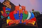 Macau's Casino Lisboa neon