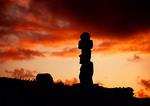 Easter Island's Tahai moai