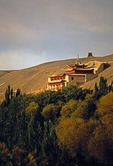 Mogao Grottoes cave-temple complex on the Silk Road
