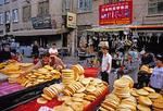 Uighur market (Er Dao Qiao Bazaar) in Urumqi