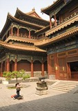 The Lama Temple (Yonghe Gong), Tower of Ten Thousand Happinesses (Wanfu Ge)