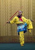 Monkey King Wukong in Beijing Opera Journey to the West at Liyuan Theater