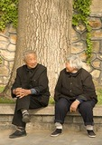 Elderly Beijingers at Summer Palace