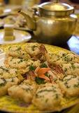 Fangshan (Imperial Kitchen) Restaurant stuffed prawns specialty