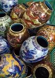 Beijing workshop cloisonne vases