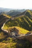 Great Wall at Jinshanling Pass, northeast of Beijing, in Hebei province