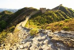Ruins of Great Wall at Jinshanling Pass, northeast of Beijing, in Hebei province