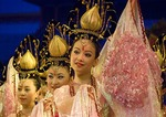 Xi'an Tang dynasty dancers in performance of The Silk Road