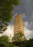 Two of Dali's Three Pagodas of Saintly Worship