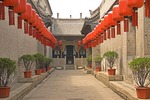 Qiao Family Courtyard (Qiao Jia Dayuan), 18th century merchant family mansion, setting for film Raise the Red Lantern