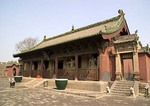 Shuanglin Monastery near Pingyao dates from North Wei dynasty and is  famed for its wood and terracotta statues from several dynasties