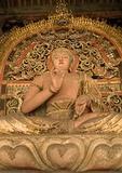 Sakyamuni Buddha in Shuanglin Monastery near Pingyao