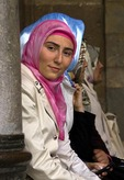 Young muslim Turkish woman in Konya