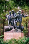 Lumberman's Monument, Huron National Forest, Michigan