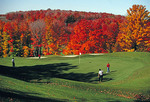 Treetops Golf Course in autumn, a Robert Trent Jones designed course, at Sylvan Resort near Gaylord, Michigan (Gaylord Golf Mecca)