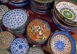 Turkish ceramic ware in Istanbul's Grand Bazaar