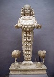 Ephesian Artemis, 125-175 CE, in Ephesus Museum