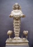 Ephesian Artemis, 125-175 CE, in Ephesus Museum