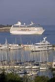Oceania's cruise ship Nautica in port of Kusadasi