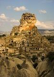 Cappadocian village of Ortahisar