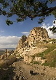 Cappadocian rock castle fortress of Uchisar