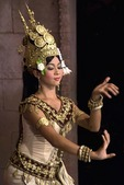 Khmer traditional Apsara dancer