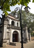 Hanoi's Van Mieu Temple of Literature entrance