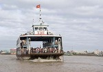 Mekong River Ferry