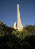 Taal Monument to Afrikaans language at Paarl in Cape Winelands