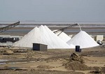 Walvis Bay Salt Works of African Explosives and Chemical Industry (AECI)