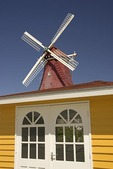 Aruba's colorful Dutch architecture