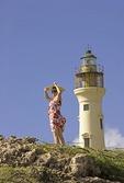 Aruba's California Lighthouse on Northwest tip of island