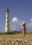 Aruba's California Lighthouse on Northwest tip of island