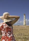 California Lighthouse on Northwest tip of Aruba