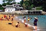 Gulangyu island's Gang Zhi Hou Beach