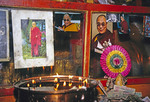 Pictures of Dalai Lama openly displayed in Lhasa's Potala Palace in 1995 later banned by authorities