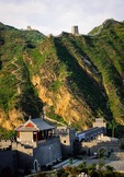 Great Wall at Huangyaguan (Huang Ya Pass) north of Tianjin which features a river crossing under gate
